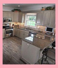 Clear-Cut Simple Kitchen Decor Inspiration Plans Around The Usa - Deborah Remodel Elegant Kitchens, Beautiful Kitchens, Cool Kitchens, Small Kitchens, Cuisines Diy, Cuisines Design, Kitchen Furniture, Kitchen Decor, Kitchen Ideas