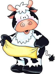*TOLE-TALLY CUTE!! ~ cow