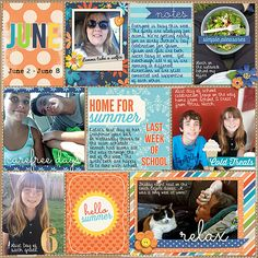 Memorable: Staycation by Kristin Cronin-Barrow & Zoe Pearn  365Unscripted: Stitched Grids 4 by Traci Reed  [Every Day] Pocket Doodles 1 by L...