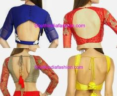 bollywood saree blouse designs 2015 - Google Search
