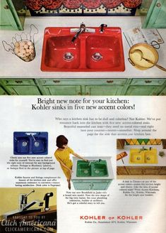 New Kohler Sink Colors by Jonathan Adler | Jonathan adler, Sinks ...