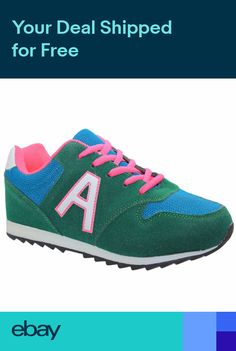 NEW WOMENS LADIES RUNNING SPORT TRAINERS GIRLS GYM TRAINERS SCHOOL SHOES UK  SIZE d2da98c70