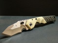 Dwaine Carrillo Knives - Tripwire Model 7