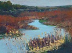 """Steens Wetlands"" - Original Fine Art for Sale - © Sarah Peroutka SOLD"