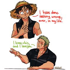 heh no zoro would just call him a rock-headed idiot One Piece Gif, One Piece Meme, One Piece Funny, Zoro One Piece, One Piece Comic, One Piece Images, One Piece Pictures, One Piece Fanart, Monkey D Luffy