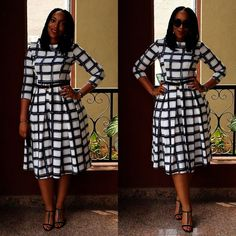 Hello dearies, as we always say comfortability is the key word to any outfits you put on. When it comes to picking/selecting church outfits, some people Church Dresses For Women, Office Dresses For Women, Church Outfits, Church Outfit Winter, African Attire, African Dress, Modest Dresses, Elegant Dresses, Flora Dress