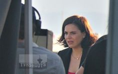 SHOOT: ONCE UPON A TIME Season 6 Sword Fight With Regina/Evil Queen (Lana Parrilla), Charming & Snow on Steveston Cannery Docks
