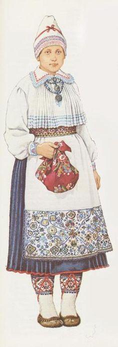 Folk costume of Kihnu, Estonia