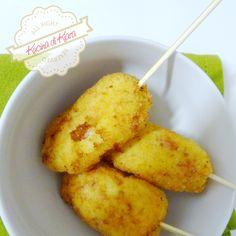 Kucina di Kiara: Stuzzichini di patate e prosciutto