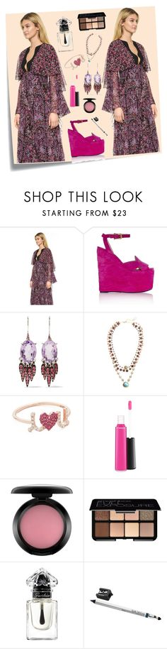 """Twins Style..**"" by yagna ❤ liked on Polyvore featuring Post-It, Giambattista Valli, Gucci, Alexis Bittar, Ela Rae, Sydney Evan, MAC Cosmetics, Smashbox, Guerlain and Trish McEvoy"