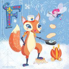 happy alphabet :Jill Howarth Illustration