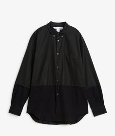 Comme des Garçons SHIRT - Mixed Fabric Shirt