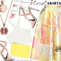 The Perfect Summer Floral Skirt (1)