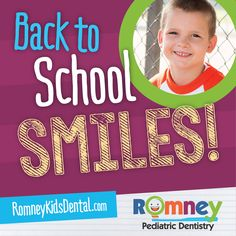 Have an exciting school year! Pediatrics, Dentistry, Happy Holidays, Back To School, Dental, Back To College