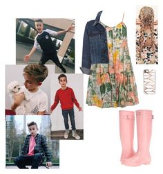 """""""HAPPY BIRTHDAY JOHNNY!!!! ILYSM"""" by abby-walker02 ❤ liked on Polyvore featuring Dorothy Perkins, rag & bone/JEAN, Hunter and Casetify"""
