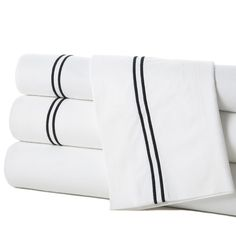 Grande Hotel Egyptian Quality Cotton Percale Flat Sheet