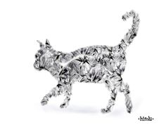 猫イラストのデザイン壁紙 サイズ1280*1024 | 壁紙hirolu Free wallpaper