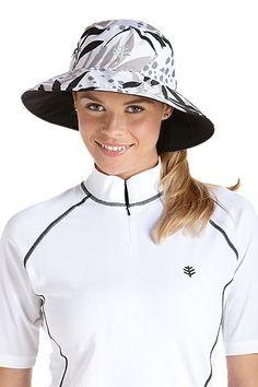 1382c3fc16fc6 Reversible Pool Hat  Sun Protective Clothing - Coolibar Sun Protective  Clothing