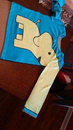 Elephant trunk shirt!
