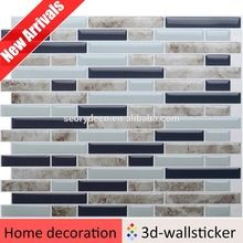 New arrival bathroom wall tile designs self adhesive vinyl wall tiles strip mosaic Peel Stick Backsplash, Peel And Stick Tile, Stick On Tiles, Backsplash Tile, Dongguan, Vinyl Wall Tiles, Self Adhesive Wall Tiles, Adhesive Vinyl, Easy Mosaic