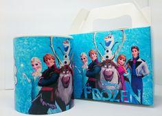Canecas de cerâmica personalizadas Frozen R$ 28,00