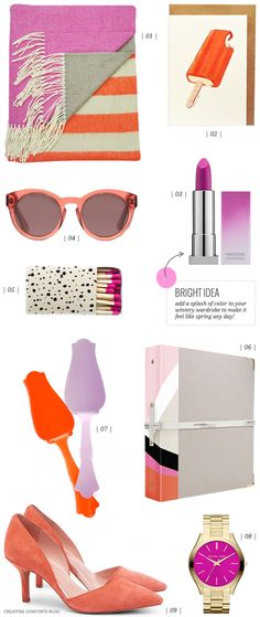 Color Crush: Orangesicle and Orchid