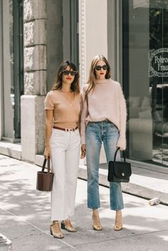 Say Cheese: Jeanne Damas & Laura Love French Fashion, Love Fashion, Girl Fashion, Fashion Outfits, Womens Fashion, Easy Style, Style Me, French Girl Style, French Classic Style