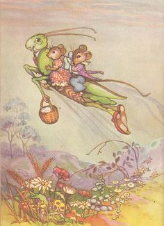 Pip and Pepita in Goblinland ❤•♥.•:*´¨`*:•♥•❤ Peg Maltby.