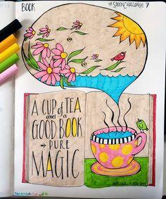 #spoonchallenge 7: Book :: Mariana :: www.floatinglemons.com