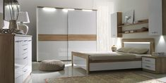 Buy affordable & unique furniture in Concept Muebles. We offer a wide assortment online : wall unit, wardrobes, sofas, tv stand, bedroom sets . Cheap Bedroom Furniture Sets, Childrens Bedroom Furniture, Bedroom Furniture Design, Room Decor Bedroom, Italian Bedroom Sets, Black Bedroom Sets, Cool Kids Bedrooms, Kids Bedroom Sets, Simple Bedroom Design