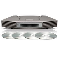 Bose Wave Multi-CD Changer, Titanium Silver (for Wave music system III) Music System, Bose Products, Waves, Silver, Amazon, Baby, Money, Riding Habit, Amazon River