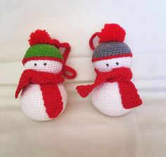 Muñeco de Nieve crochet