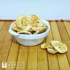 Chips de Banana na AirFryer   Fritadeira sem Óleo - AirFryer