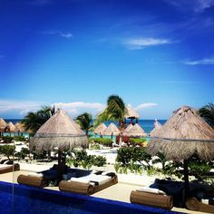 Gorgeous view for a lunch time :) The Beloved Hotel Playa Mujeres. Cancun, Mexico. www.belovedhotels.com