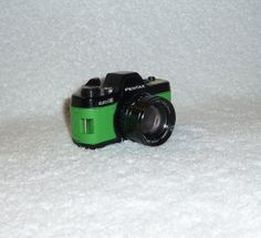 Have Fun With 50mm Lens Photography Using A by UpcycledClassics, $107.00 Green #Pentax #Camera