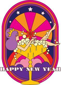 Happy New Year!  Illustration by Draw Pilgrim