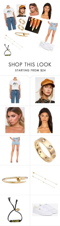 """""""Untitled #4255"""" by oreabe ❤ liked on Polyvore featuring Fiorucci, Avery, Haati Chai, Sincerely, Jules, Cartier, Su Misura and Puma"""