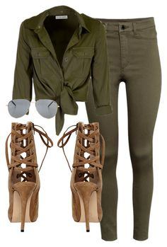 Untitled #288 by rhiannonkennedy on Polyvore featuring polyvore, fashion, style, H&M, Yves Saint Laurent and clothing