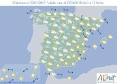 Fenómenos significativos Intervalos de viento fuerte en el noreste de Gerona y Bajo Ebro. Predicción En el extremo norte peninsular