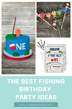 The best ideas for hosting a Fishing Birthday Party for kids. O'fishally one birthday party ideas including invitations, cookies, cake, and decorations. 1st Birthday Party Themes, First Birthday Decorations, Party Themes For Boys, Birthday Invitations Kids, Birthday Ideas, O Fish Ally, Popular Birthdays, Girl Fishing, Cake Cookies