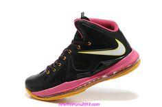 Lebron 10 Lebron James Shoes 2013 Floridians Pink