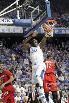 Game action from UK-Louisville on Dec. 28, 2013.