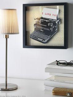 "Chiar și tablourile pot spune ""Te iubesc"". http://www.IKEA.com/ro/ro/catalog/products/30252609/"