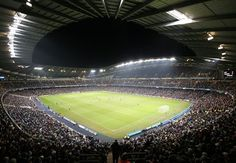 Etihad Stadium - home of Manchester City Football Club http://www.visitmanchester.com/articles/attractions/the-manchester-city-experience.aspx