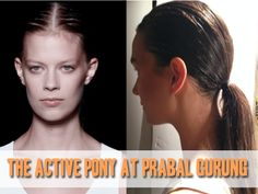 TRESemmé creates the active ponytail for Prabal Gurung at New York Fashion Week
