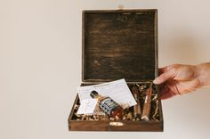 DIY groomsman box