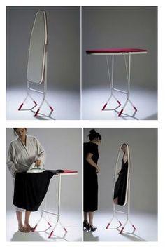 strijkplank creatied 'opbergen'