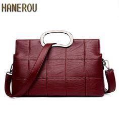 38 66 Cool 2017 Fashion Women Bag Luxury Brand Pu Leather Messenger Bags Shell