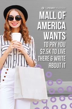 This is one cool free writing contest: The Mall of America is looking for a talented scribe to live in the mall for five days -- and it pays $2.5K.