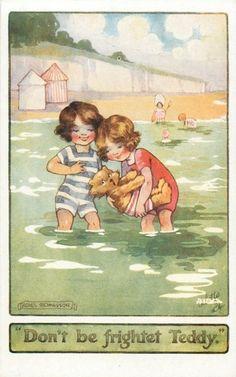 """Artist: Agnes Richardson """"Don't be frighten Teddy."""""""